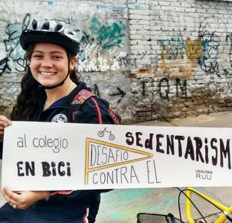 Project Al Colegio en Bici, a Colombian initiative